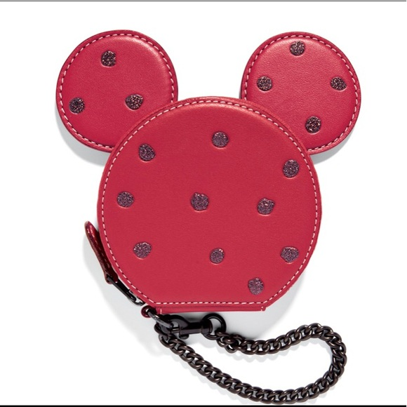 super cute 73dce 5335a NWT Disney x Coach 1941 Minnie Mouse Coin Purse NWT